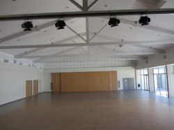 Grande salle vide