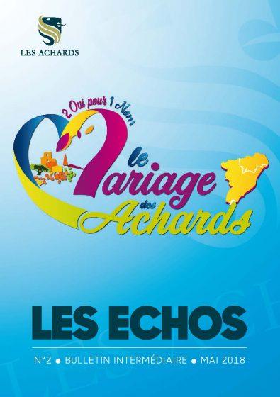 Les Echos des Achards 2018