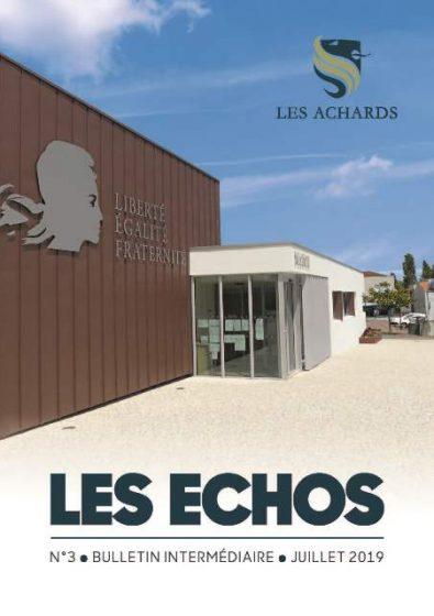 LES ECHOS DES ACHARDS 2019