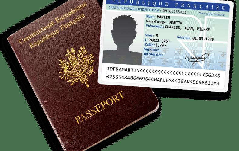 Carte nationale d'identité et passeport